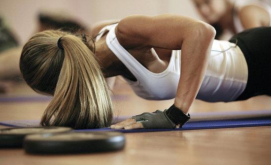 Flexiones gimnasio