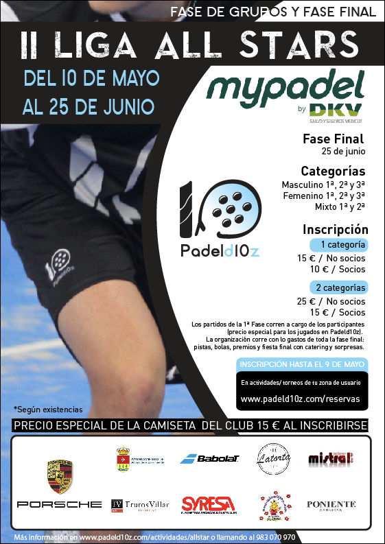 cartel II Liga All Stars Padeld10z