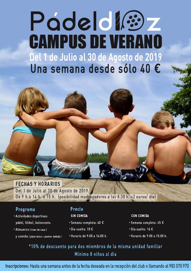 Campus de Verano Padeld10z 2019